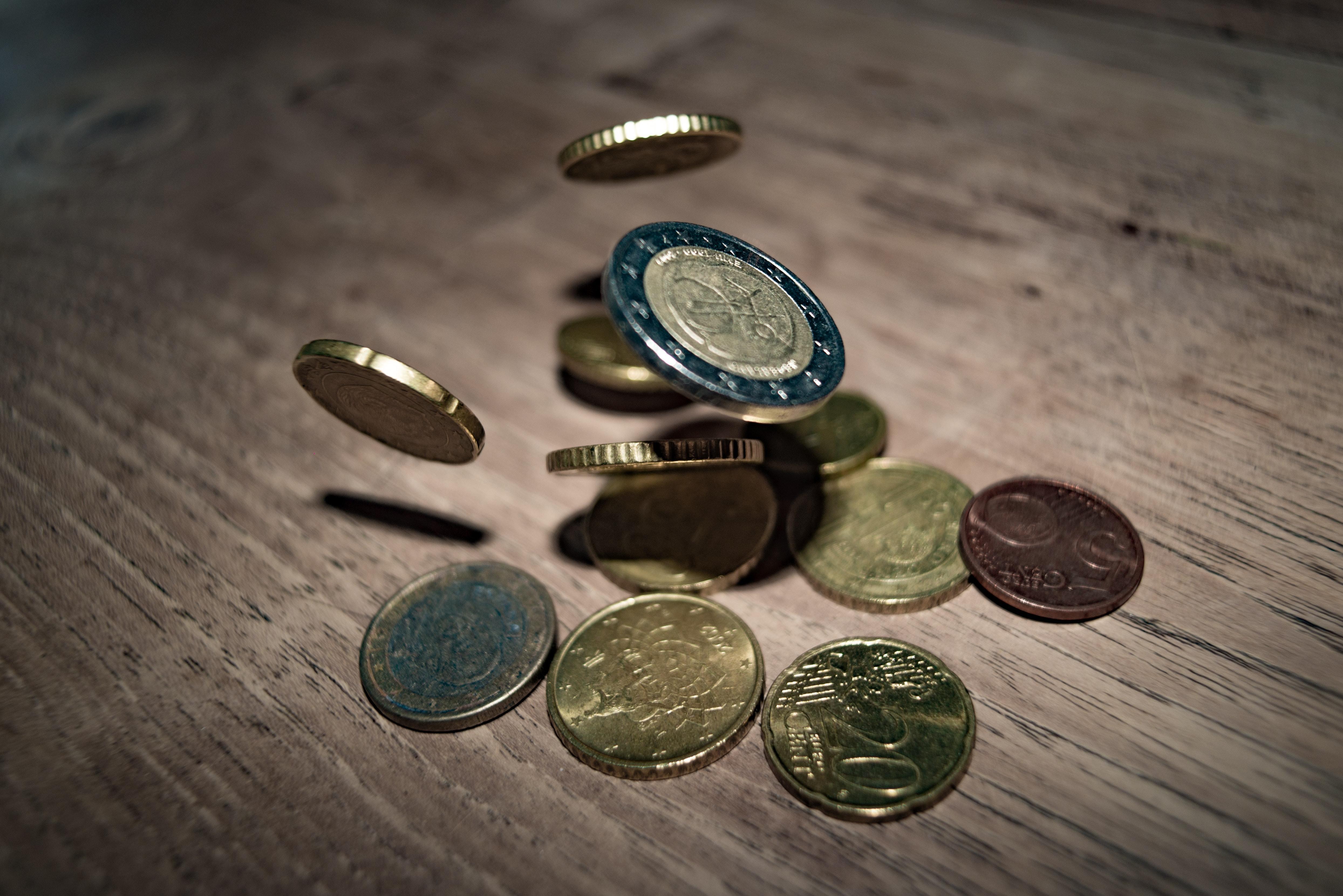 Eurogeld-Muenzen